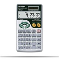 Buy EL344RB 10DIGIT Calculator With Punctuation