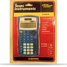 Texas Instrument TI30X Iis Blue Calculator