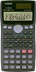 dual power scientific calculator functions line