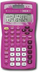 texas instrument pink calculator